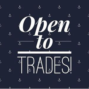 Im open to trades!